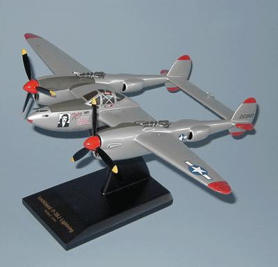 P-38 Lightning Model   Pilot Ace Dick Bong's Plane