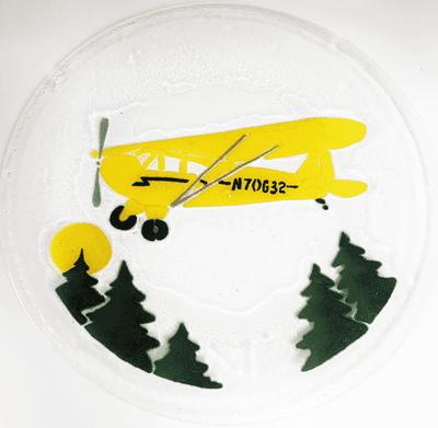 Piper Cub Plate