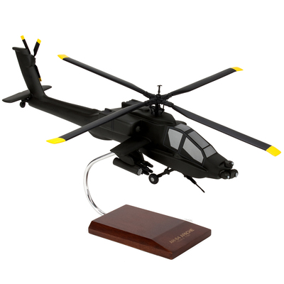 AH-64 Apache Model Helicopter