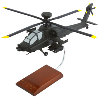 AH-64D Apache Longbow Model Helciopter