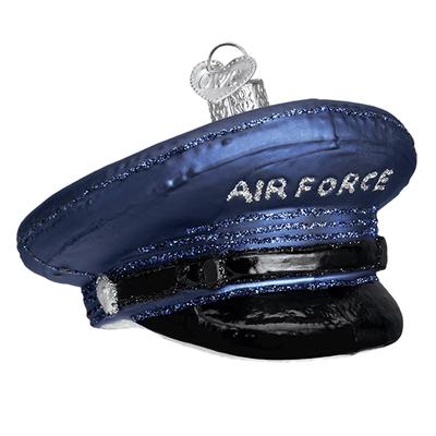 Air Force Cap Ornament <font color=red>50% Savings</font>