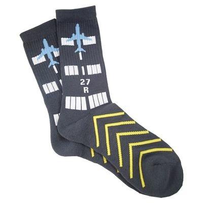 Airport Runway Socks