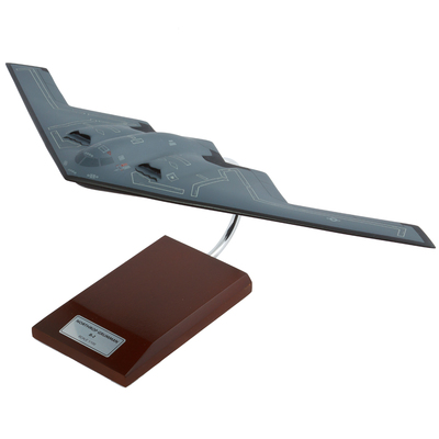 B-2 Stealth Model Airplane 1/100 scale
