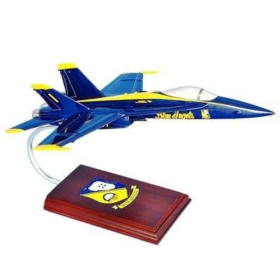 Blue Angels F/A 18 Hornet Model