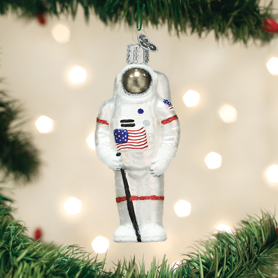 Glass Astronaut Ornament  | Just Reduced