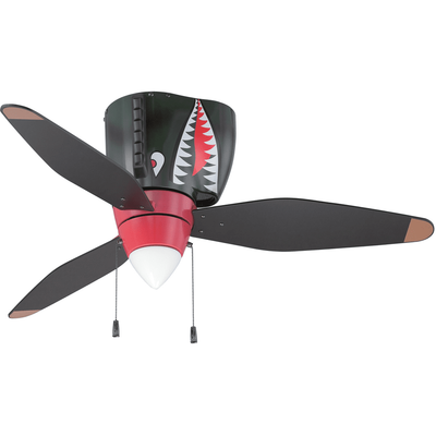 P-40 Tigershark Ceiling Fan  | <font color=red>Santa Saver</font>