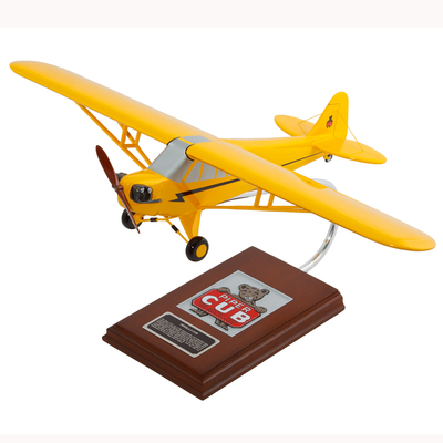 Piper J-3 Cub Model Airplane - 1/20 scale