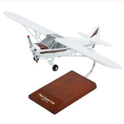 Piper PA-18 Super Cub Model Airplane 1/24 Scale