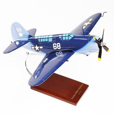 SBC2 Helldiver Model Airplane
