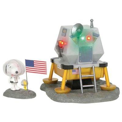 Snoopy Astronaut and Apollo 11 Lunar Module Collectibles