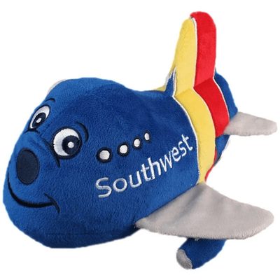 Southwest Airlines Airplane Plush Toy with Sound