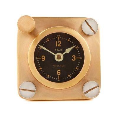 Replica Spitfire Airplane Desk Clock
