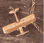 14K Gold Diamond Airplane Pendant Jewelry | <font color=red>Santa Saver</font>