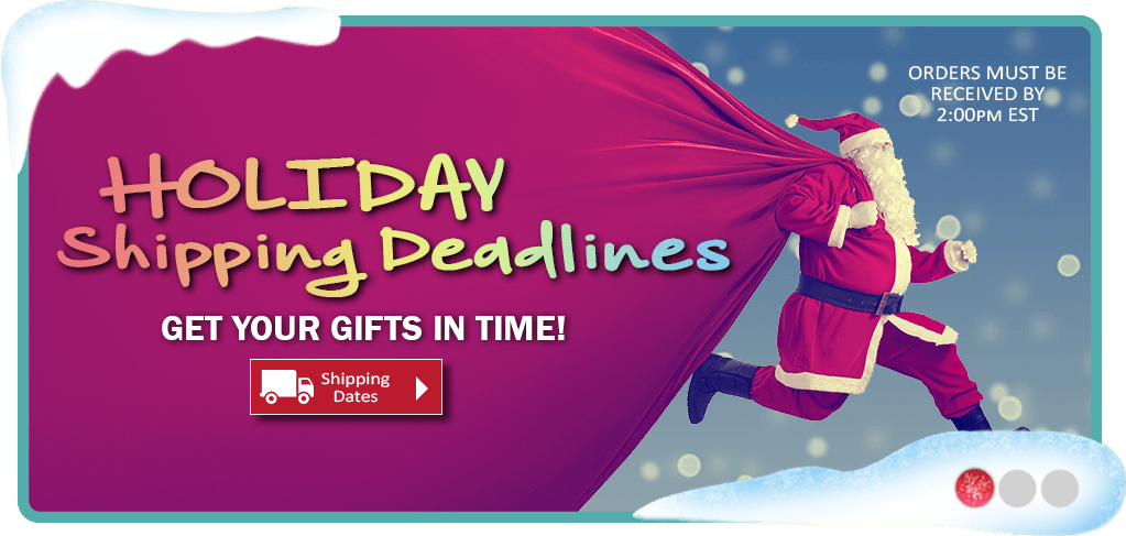 Holiday Delivery Deadlines
