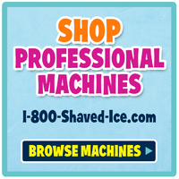 Commercial Shaved Ice and Snow Cone Machines