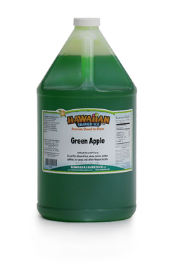 Shaved Ice Gallon Size Syrup of the Month – Green Apple