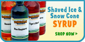 Shaved Ice & Snow Cone Syrup