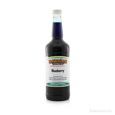 Blueberry Syrup for Shaved Ice - Quart