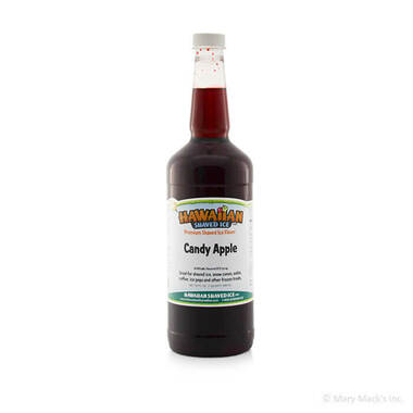 Candy Apple Syrup for Shaved Ice - Quart