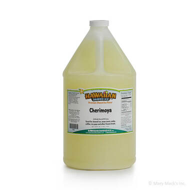 Cherimoya Flavored Syrup - Gallon