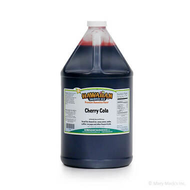 Cherry Cola Shaved Ice and Snow Cone Syrup – Gallon