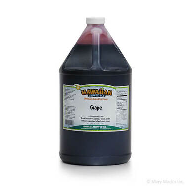 Grape Syrup for Shaved Ice - Gallon
