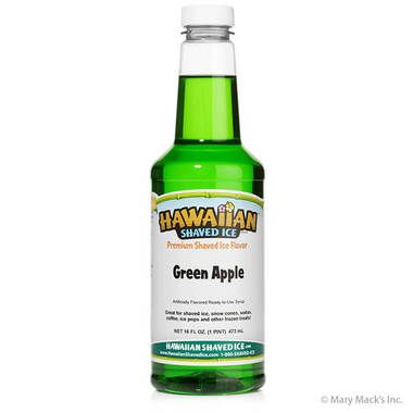 Green Apple Shaved Ice and Snow Cone Syrup - Pint