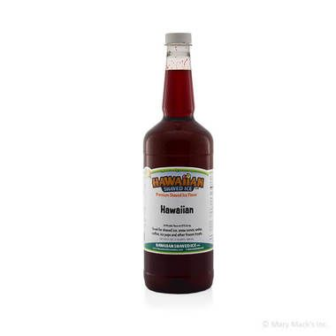 Hawaiian Shaved Ice Syrup - Quart