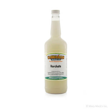 Horchata Flavor Shaved Ice Syrup - Quart