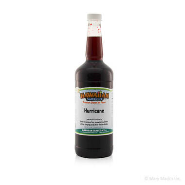 Hurricane Flavor Syrup for Shaved Ice - Quart