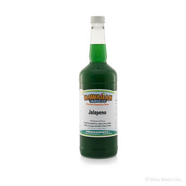 Jalapeno Shaved Ice and Snow Cone Syrup - Quart