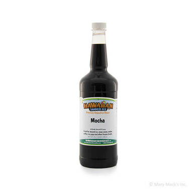 Mocha Syrup for Shaved Ice - Quart