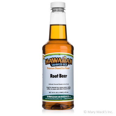Root Beer Shaved Ice & Snow Cone Syrup - Pint