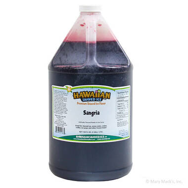 Gallon - Sangria Shaved Ice Syrup
