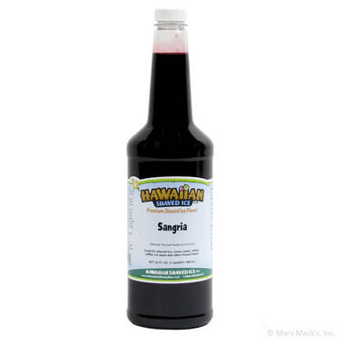 Sangria Shaved Ice & Snow Cone Syrup