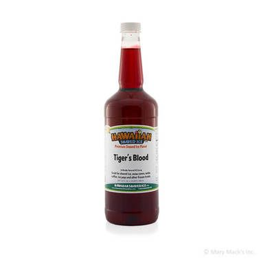 Tiger's Blood Shaved Ice & Snow Cone Syrup