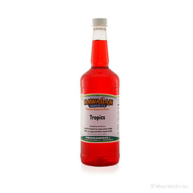 Tropics Syrup for Shaved Ice - Quart