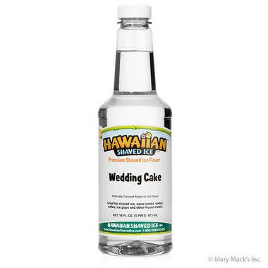 Wedding Cake Shaved Ice & Snow Cone Syrup - Pint
