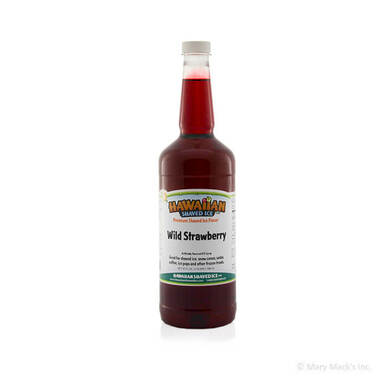 Wild Strawberry Shaved Ice Syrup - Quart