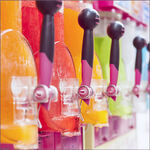 Slushie Flavors with Shaved Ice Syrup