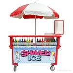 Mobile Concession Stand with Umbrella
