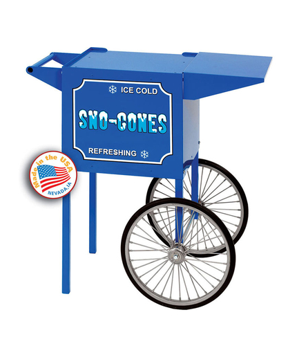 Spoke-Wheel Snow Cone Cart