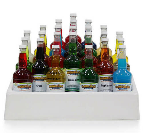 Home Plate Shaped Bottle Rack for 24-Quart Bottles