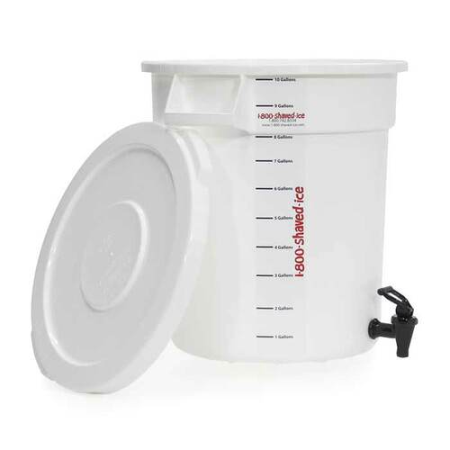 10 Gallon Mixing Container