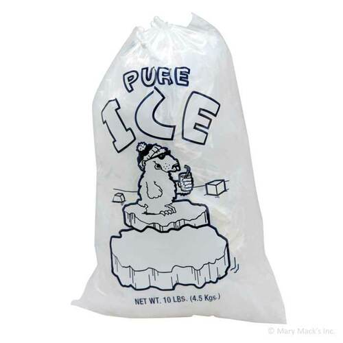 Round Block Ice Bags
