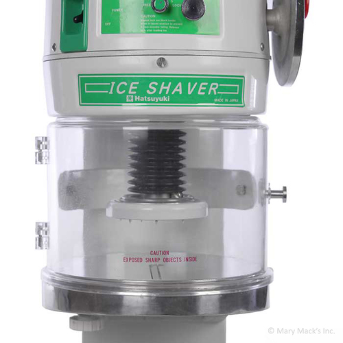 12-Volt Ice Hatsuyuki Block Shaver