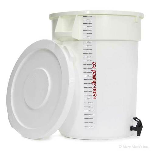 Mixing Container with Spout - 32 Gallon
