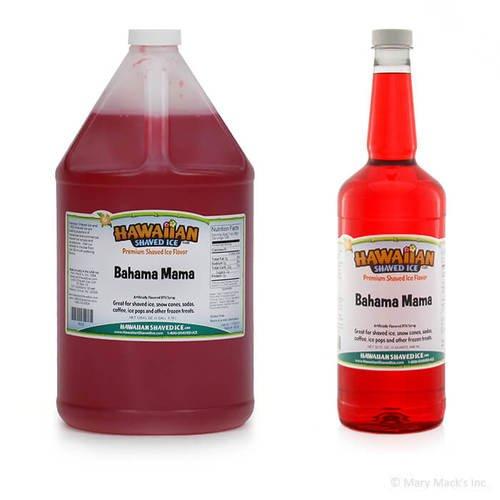 Bahama Mama Shaved Ice Syrup