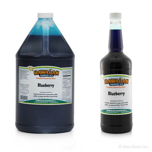 Blueberry Shaved Ice Syrup