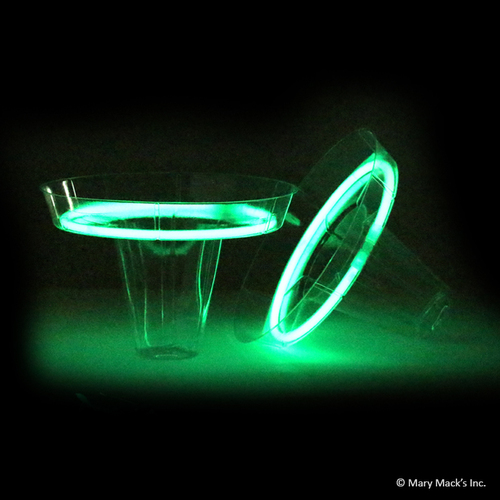 Glow in the Dark Shaved Ice Cups